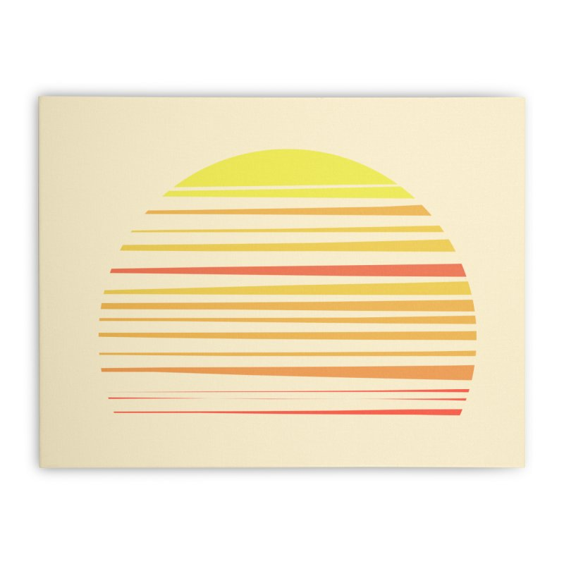 all summer long Home Stretched Canvas by sustici's Artist Shop