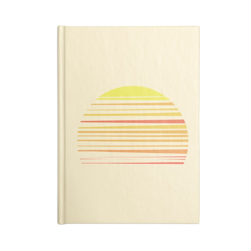 all summer long Accessories Notebook by sustici's Artist Shop
