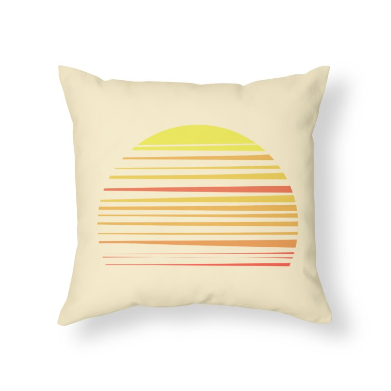 all summer long Home Throw Pillow by sustici's Artist Shop