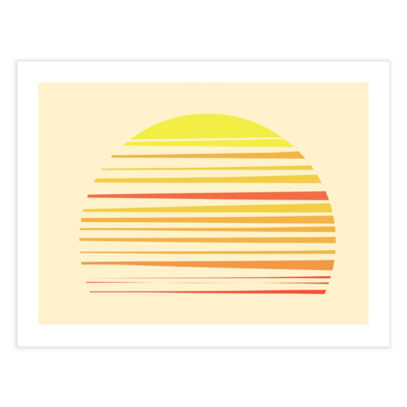 all summer long Home Fine Art Print by sustici's Artist Shop