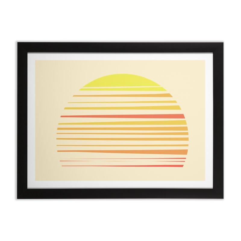 all summer long Home Framed Fine Art Print by sustici's Artist Shop