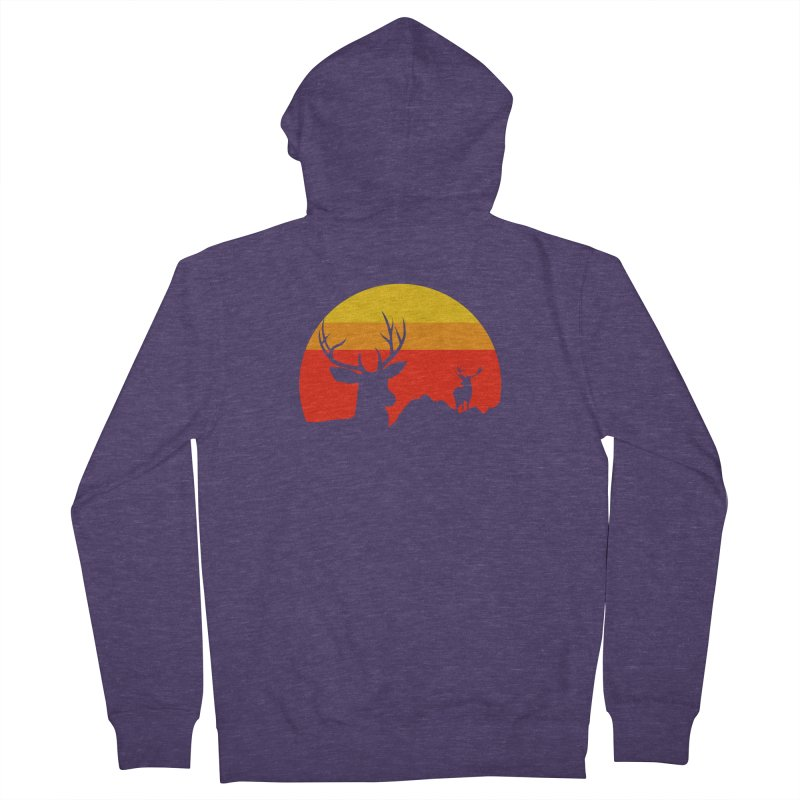 yellowstone Men's Zip-Up Hoody by sustici's Artist Shop