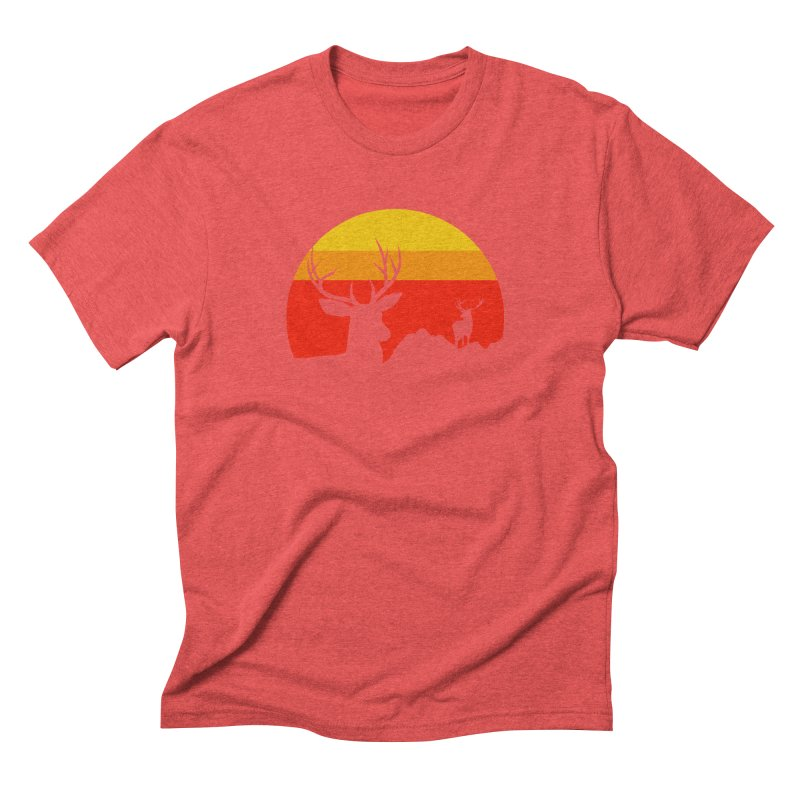 yellowstone Men's Triblend T-shirt by sustici's Artist Shop