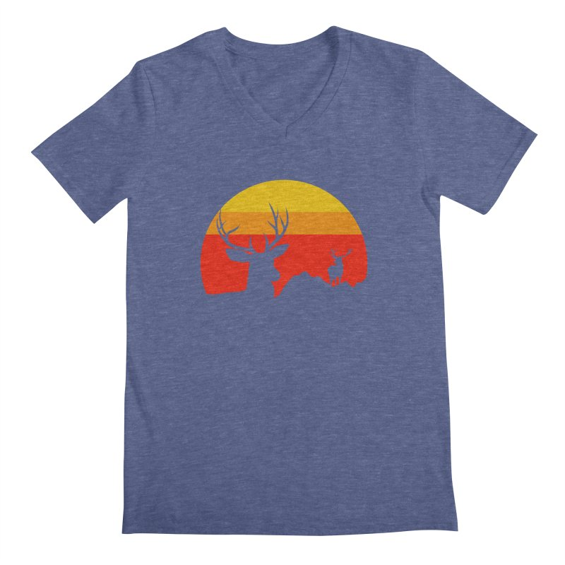 yellowstone Men's V-Neck by sustici's Artist Shop