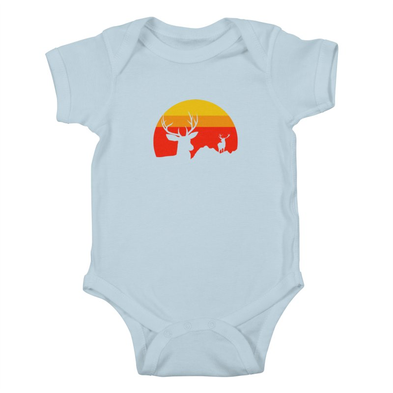 yellowstone Kids Baby Bodysuit by sustici's Artist Shop