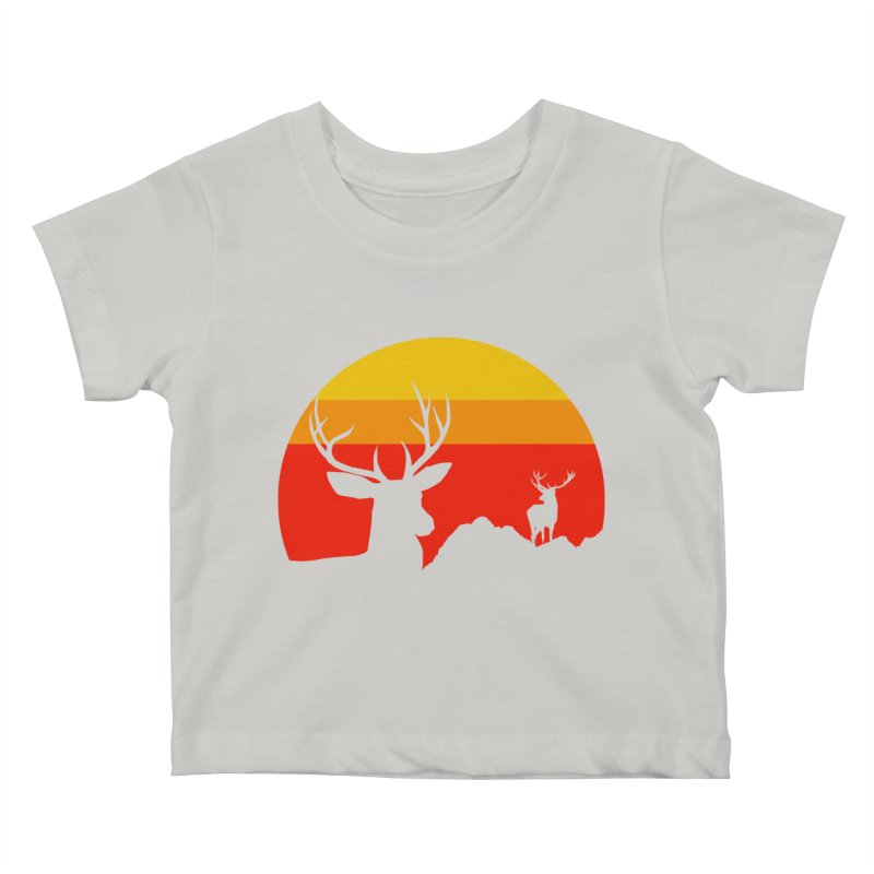 yellowstone Kids Baby T-Shirt by sustici's Artist Shop