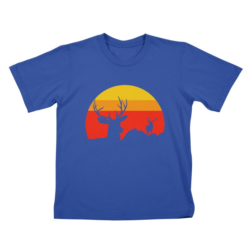 yellowstone Kids T-shirt by sustici's Artist Shop