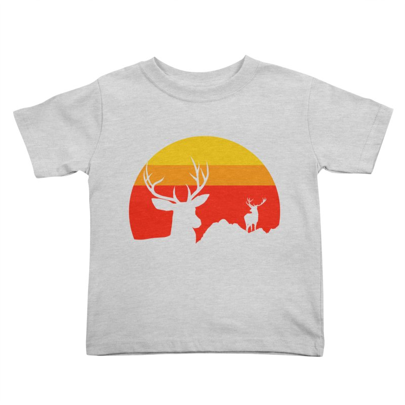 yellowstone Kids Toddler T-Shirt by sustici's Artist Shop