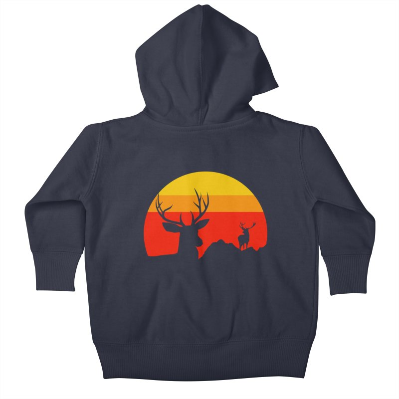 yellowstone Kids Baby Zip-Up Hoody by sustici's Artist Shop