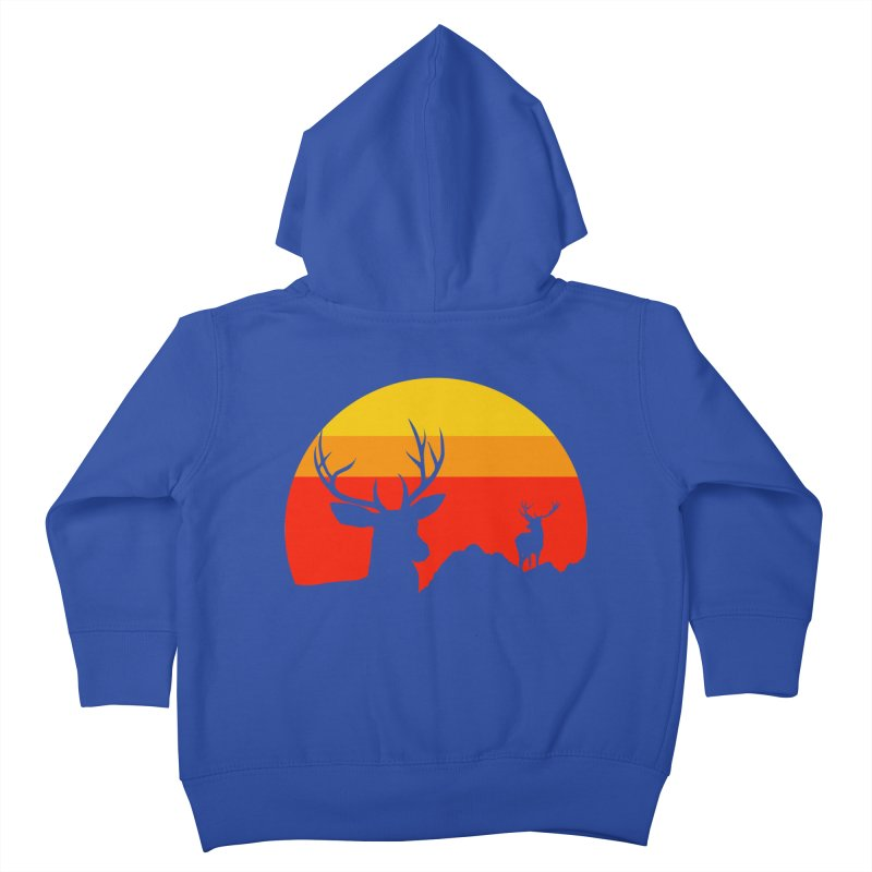yellowstone Kids Toddler Zip-Up Hoody by sustici's Artist Shop