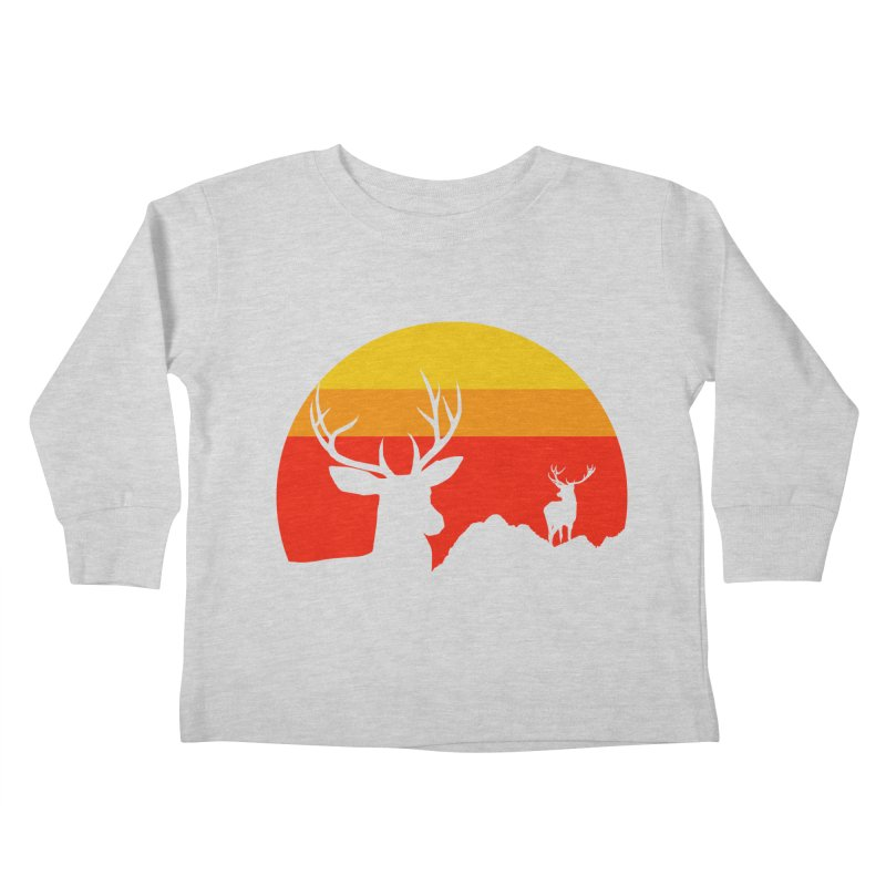 yellowstone Kids Toddler Longsleeve T-Shirt by sustici's Artist Shop