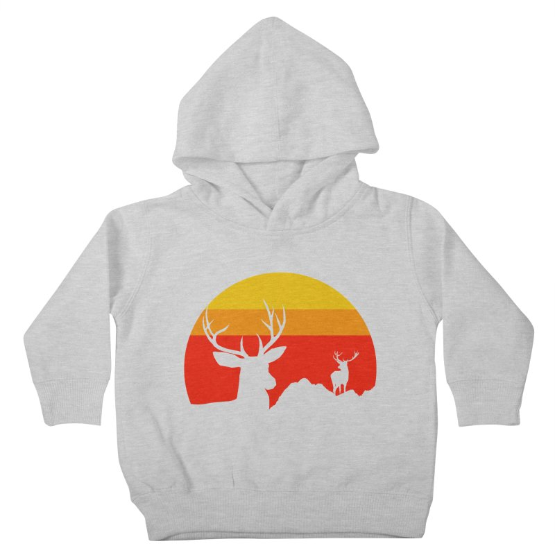 yellowstone Kids Toddler Pullover Hoody by sustici's Artist Shop