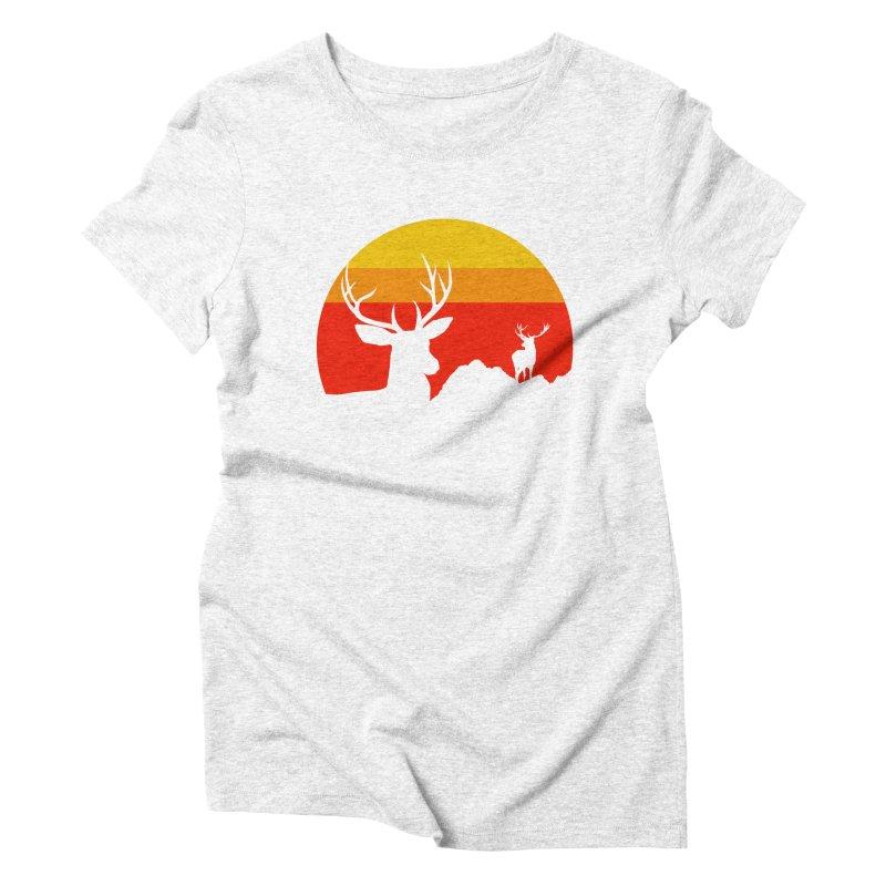 yellowstone Women's Triblend T-shirt by sustici's Artist Shop