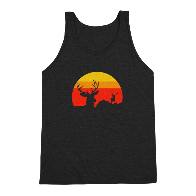 yellowstone Men's Triblend Tank by sustici's Artist Shop