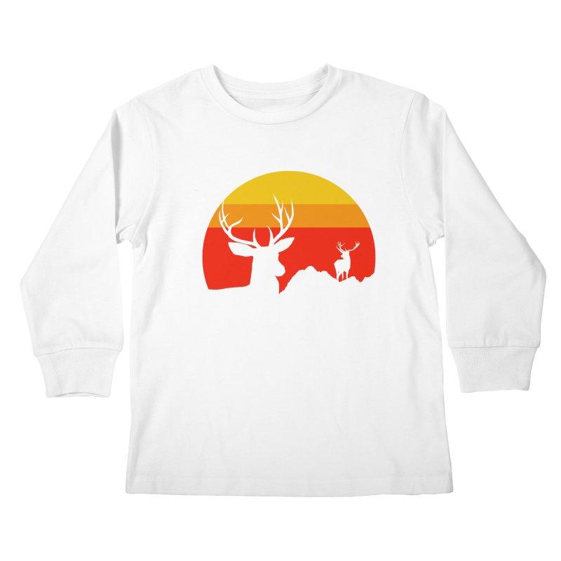 yellowstone Kids Longsleeve T-Shirt by sustici's Artist Shop