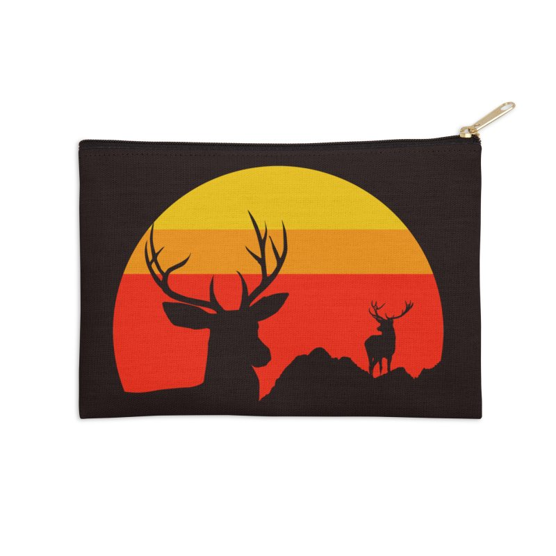 yellowstone Accessories Zip Pouch by sustici's Artist Shop