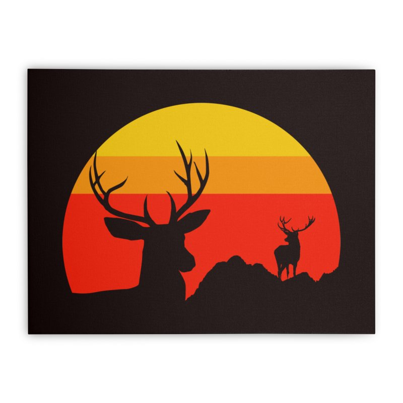 yellowstone Home Stretched Canvas by sustici's Artist Shop
