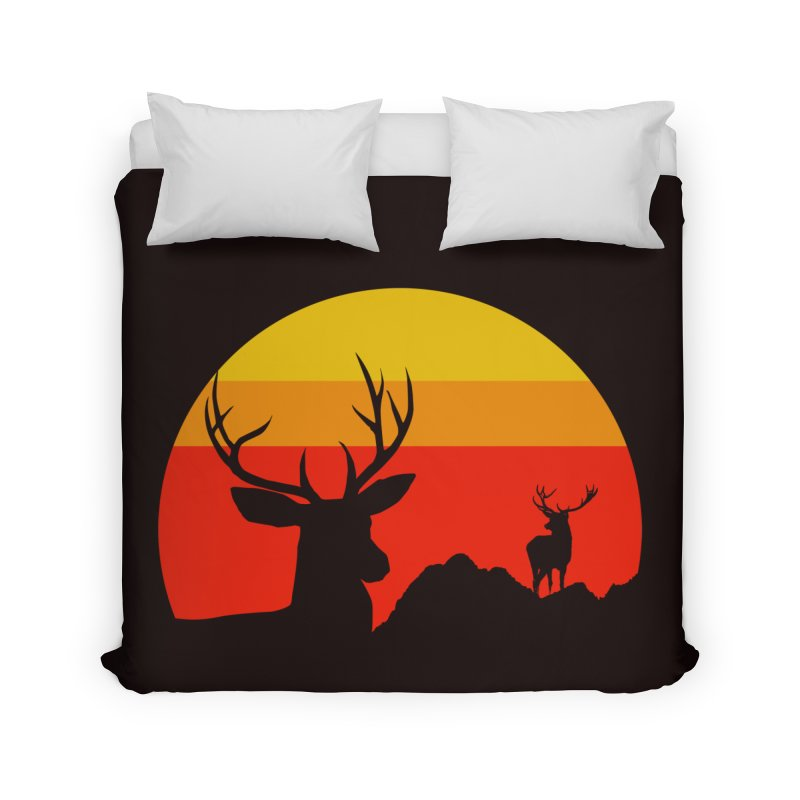 yellowstone Home Duvet by sustici's Artist Shop