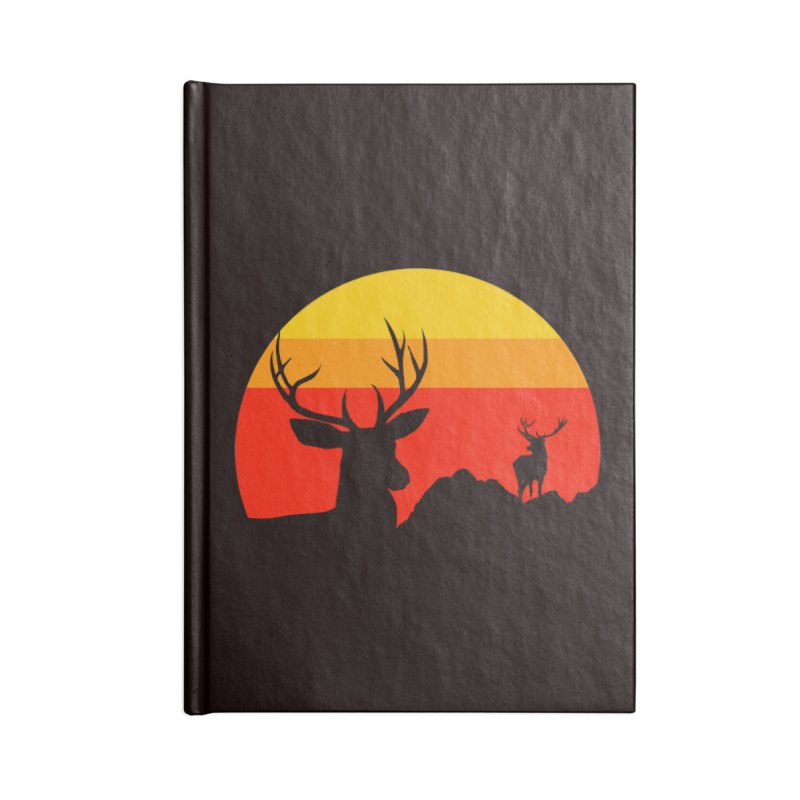 yellowstone Accessories Notebook by sustici's Artist Shop