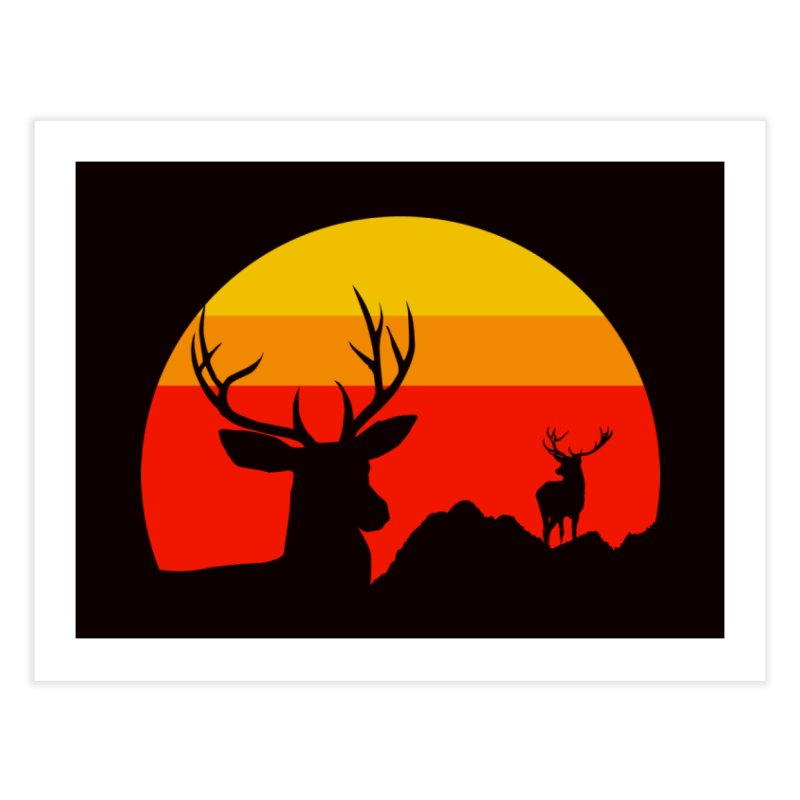 yellowstone Home Fine Art Print by sustici's Artist Shop