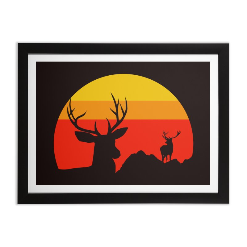 yellowstone Home Framed Fine Art Print by sustici's Artist Shop