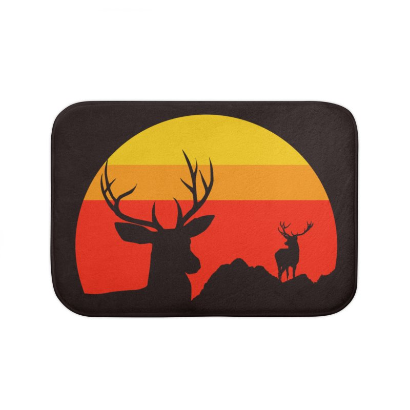 yellowstone Home Bath Mat by sustici's Artist Shop