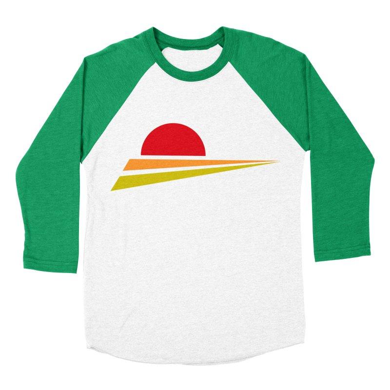 o sole mio Women's Baseball Triblend T-Shirt by sustici's Artist Shop