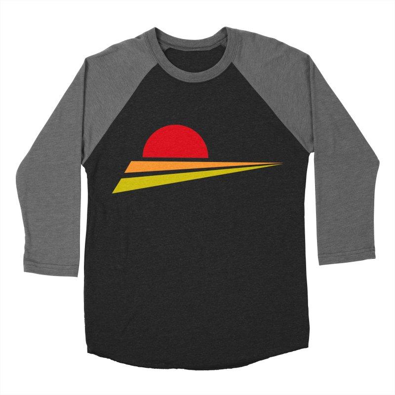 o sole mio Men's Baseball Triblend T-Shirt by sustici's Artist Shop