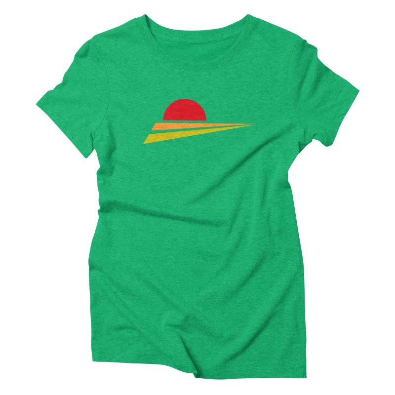 o sole mio Women's Triblend T-shirt by sustici's Artist Shop