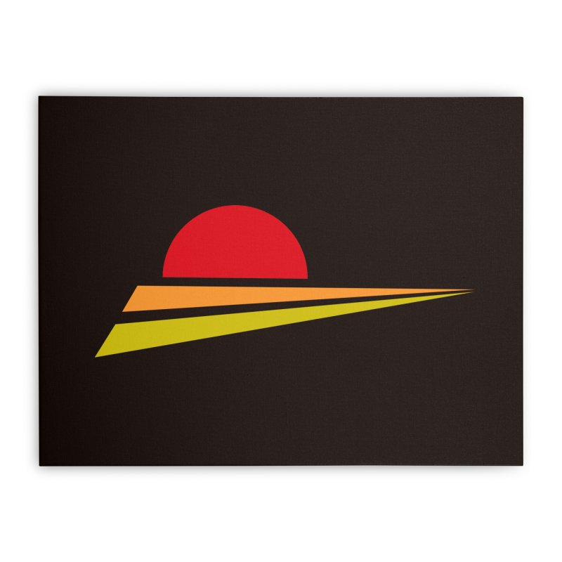 o sole mio Home Stretched Canvas by sustici's Artist Shop