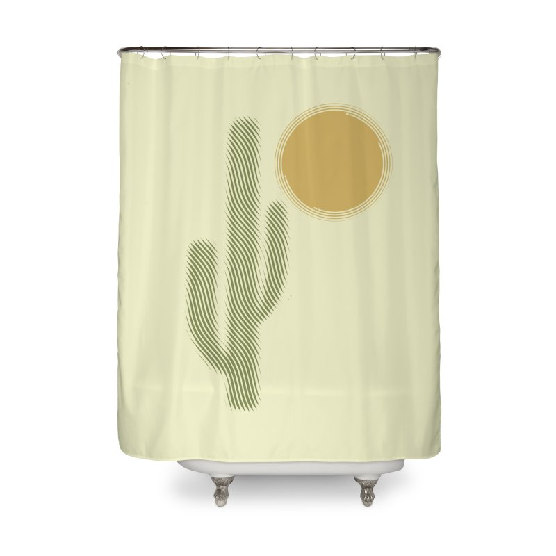 Sweating Home Shower Curtain by sustici's Artist Shop