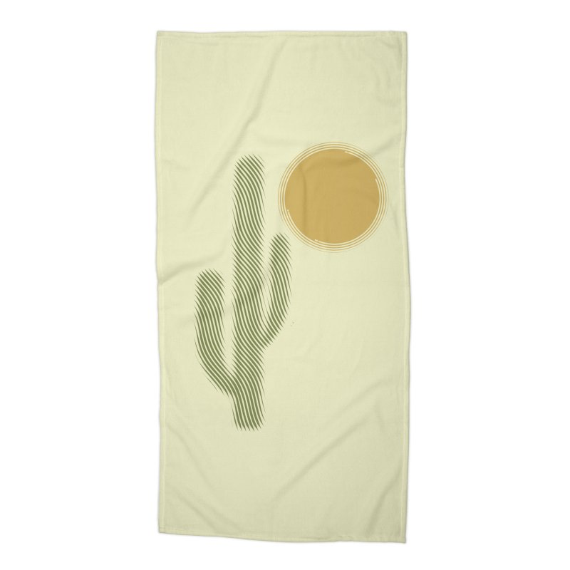 Sweating Accessories Beach Towel by sustici's Artist Shop