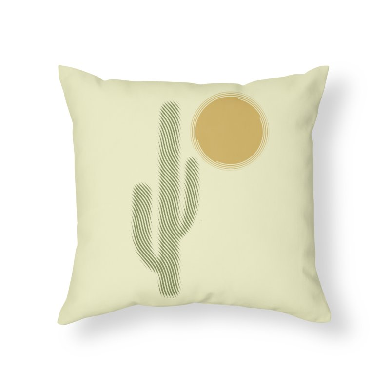Sweating Home Throw Pillow by sustici's Artist Shop