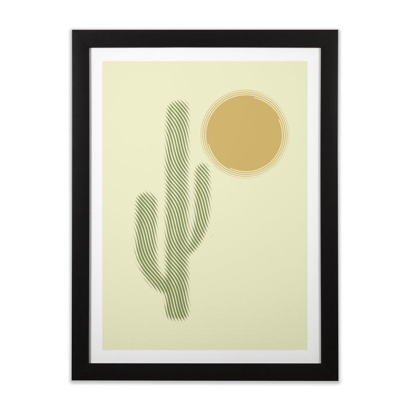 Sweating Home Framed Fine Art Print by sustici's Artist Shop