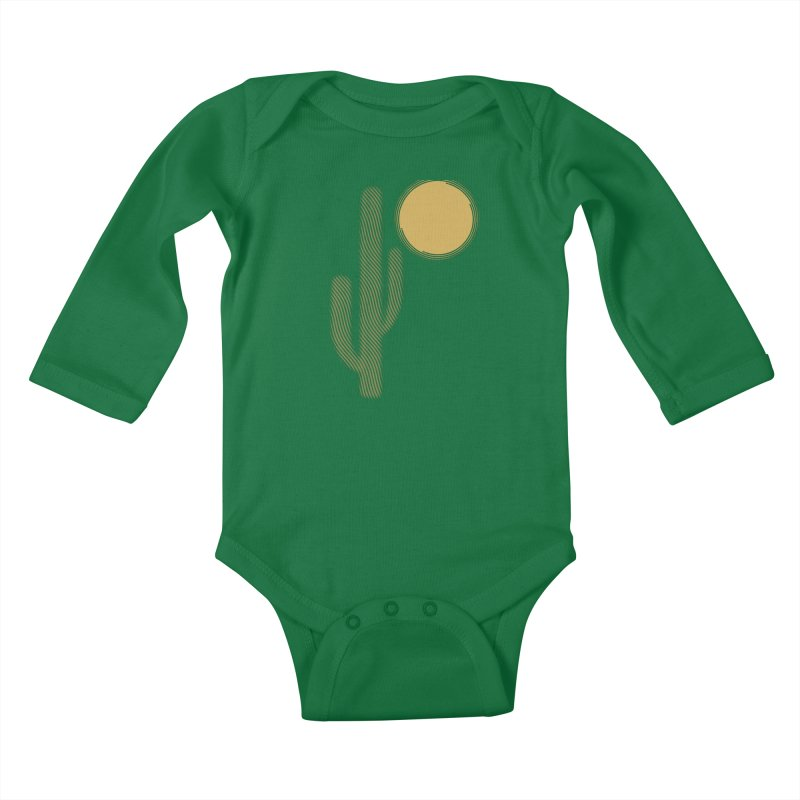 Sweating Kids Baby Longsleeve Bodysuit by sustici's Artist Shop