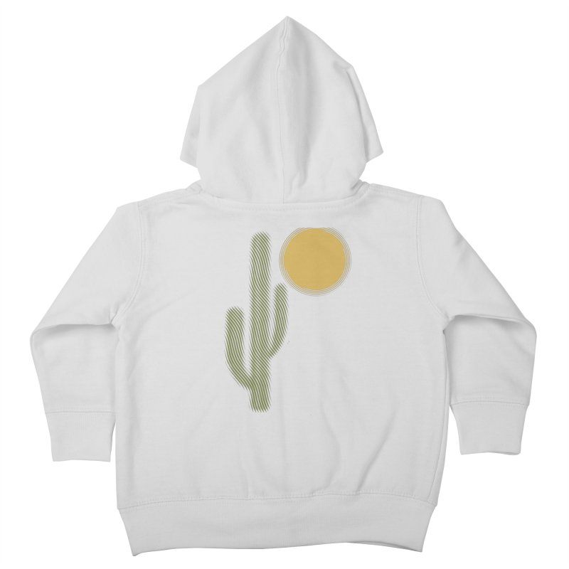 Sweating Kids Toddler Zip-Up Hoody by sustici's Artist Shop