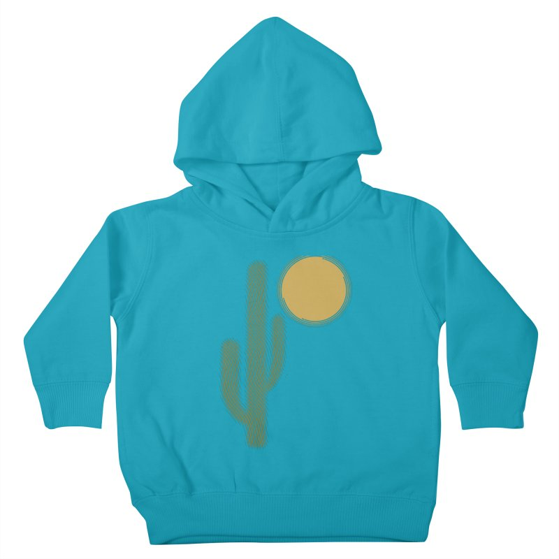 Sweating Kids Toddler Pullover Hoody by sustici's Artist Shop