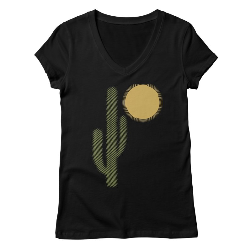 Sweating Women's V-Neck by sustici's Artist Shop