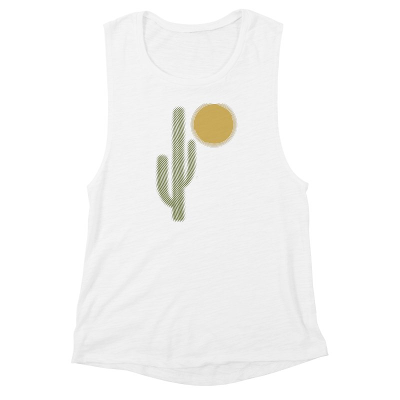 Sweating Women's Muscle Tank by sustici's Artist Shop