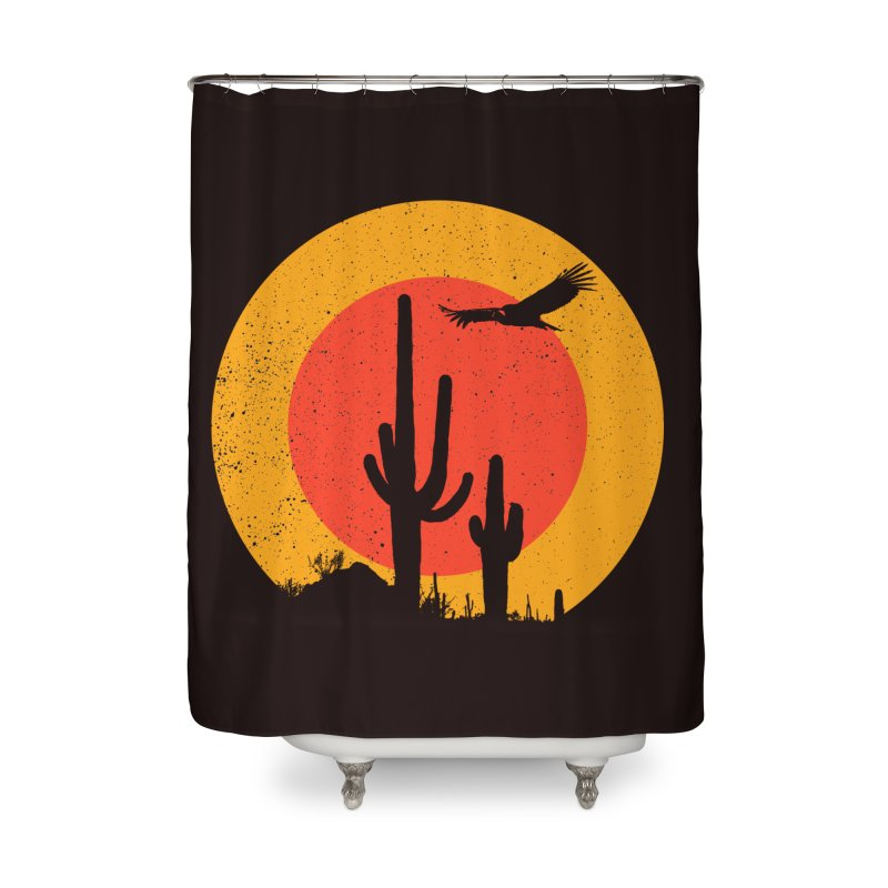 Death Valley Home Shower Curtain by sustici's Artist Shop