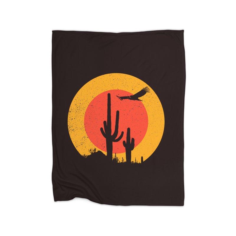 Death Valley Home Blanket by sustici's Artist Shop
