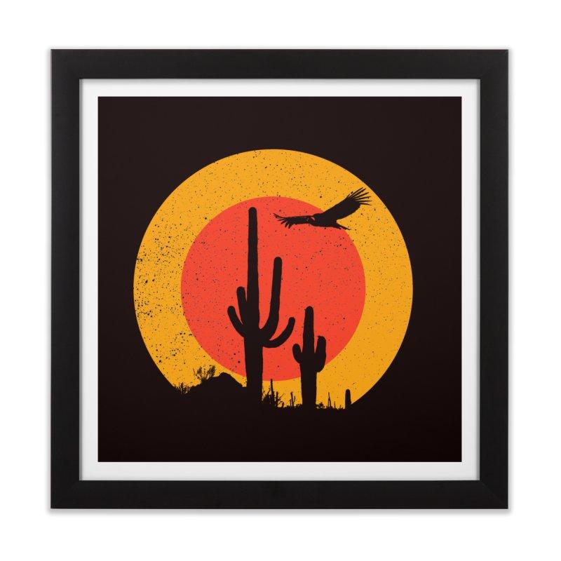 Death Valley Home Framed Fine Art Print by sustici's Artist Shop