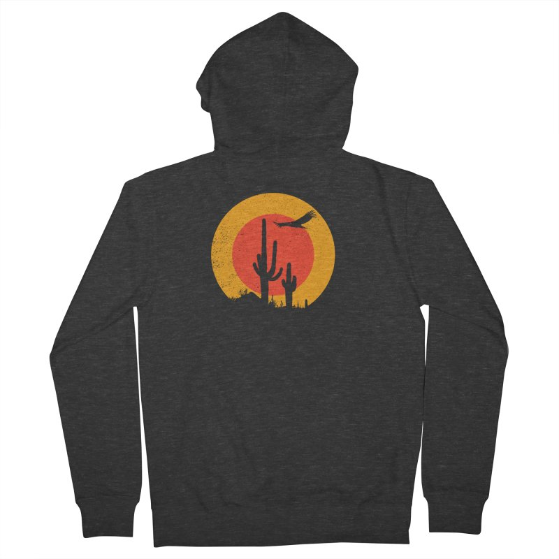 Death Valley Women's Zip-Up Hoody by sustici's Artist Shop