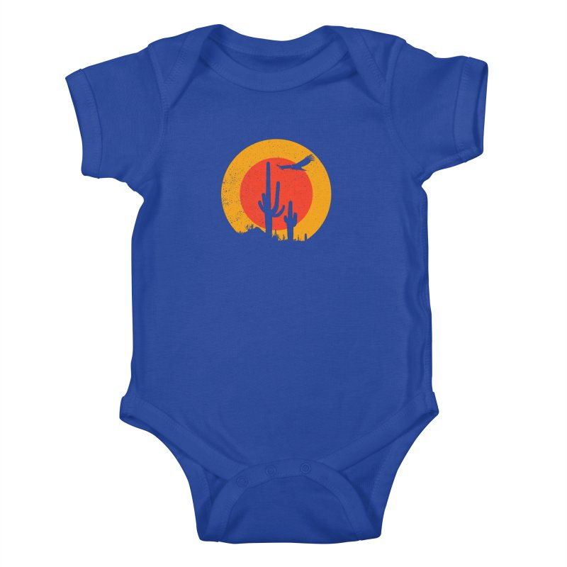 Death Valley Kids Baby Bodysuit by sustici's Artist Shop