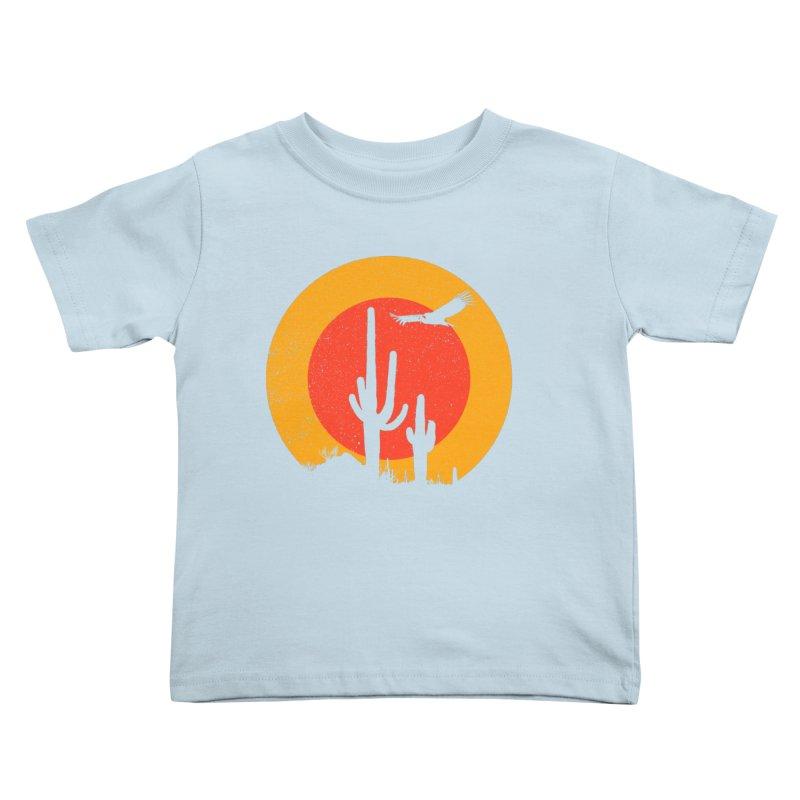 Death Valley Kids Toddler T-Shirt by sustici's Artist Shop