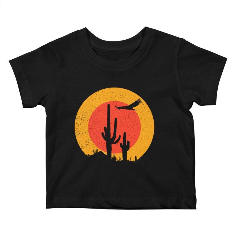 Death Valley Kids Baby T-Shirt by sustici's Artist Shop