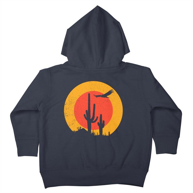 Death Valley Kids Toddler Zip-Up Hoody by sustici's Artist Shop
