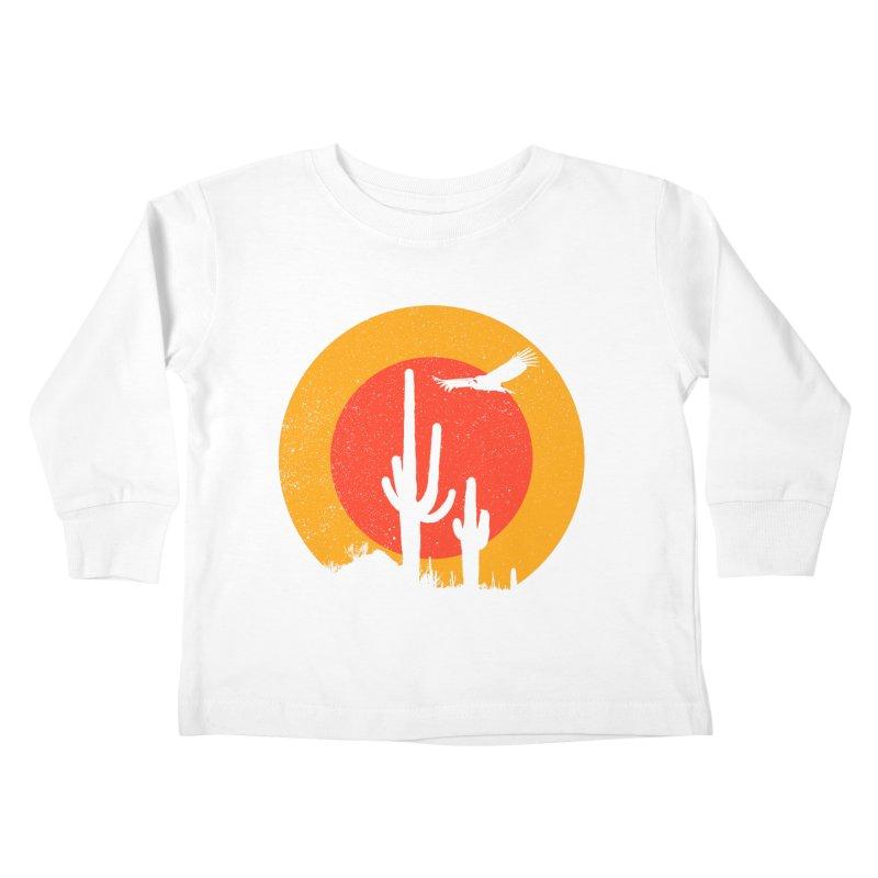 Death Valley Kids Toddler Longsleeve T-Shirt by sustici's Artist Shop
