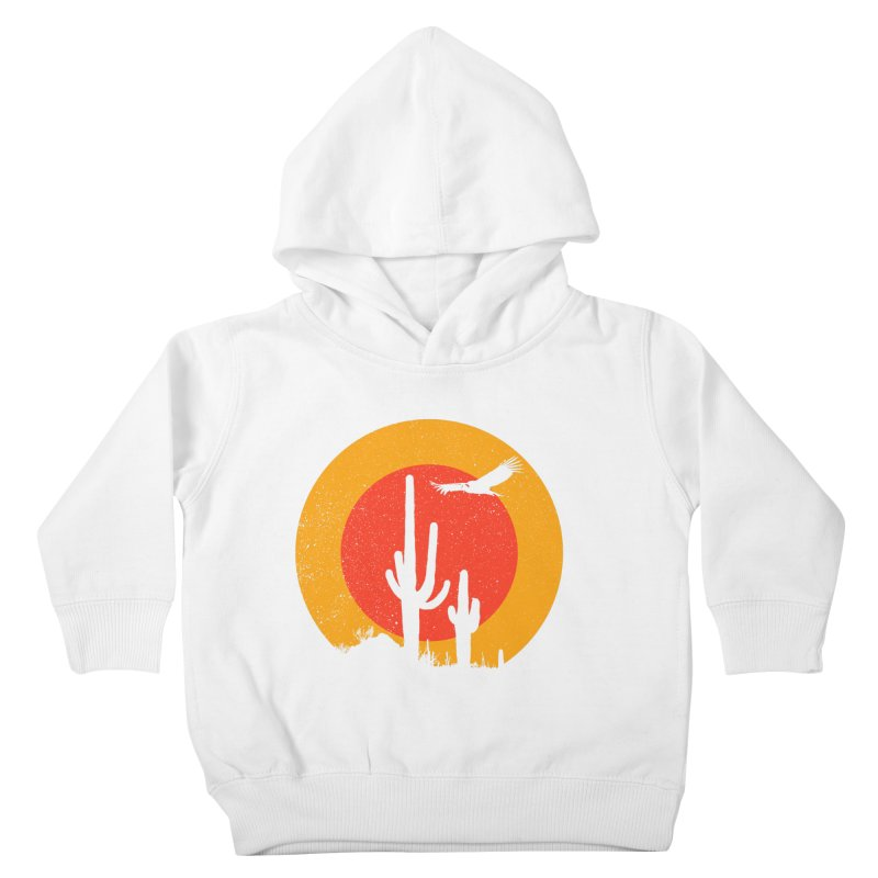 Death Valley Kids Toddler Pullover Hoody by sustici's Artist Shop