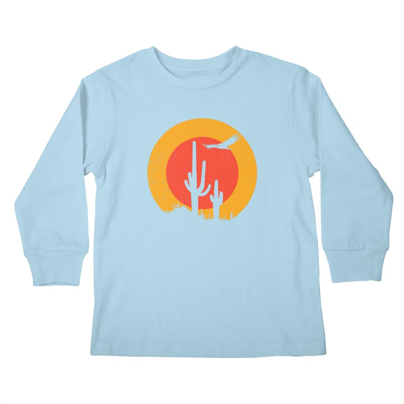Death Valley Kids Longsleeve T-Shirt by sustici's Artist Shop